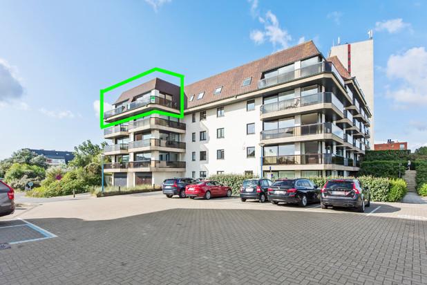Exclusieve penthouse met frontaal zeezicht
