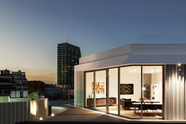 Nieuwe Penthouse - Residentie Le Bailli