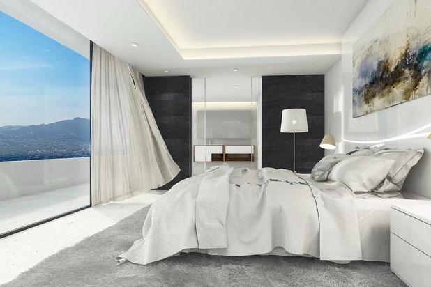 Design villa met zeezicht in Javea