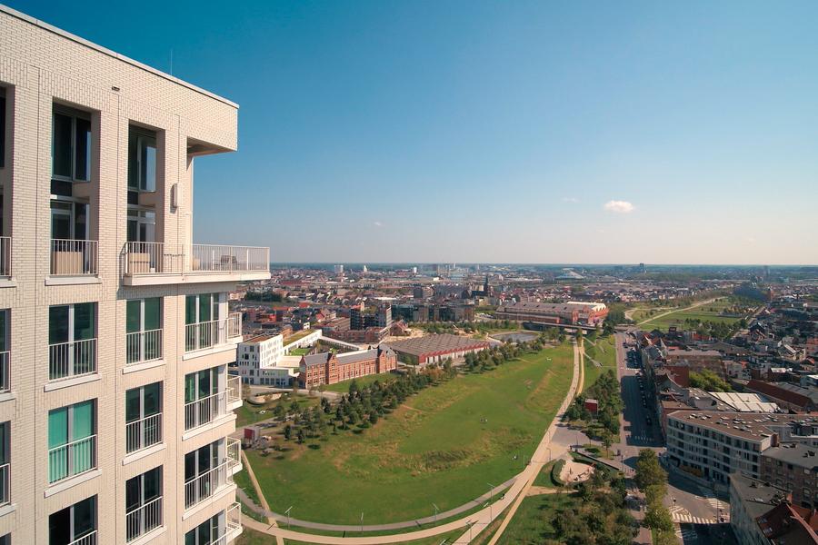 Unieke penthouse met uitzicht over Antwerpen
