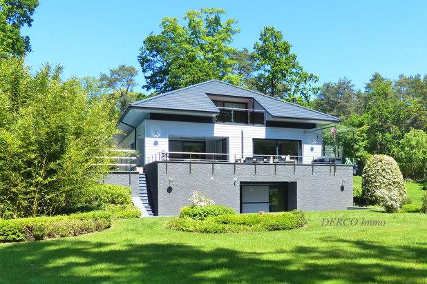 topklasse moderne villa * 25 are * zwembad * zeer RUSTIG !