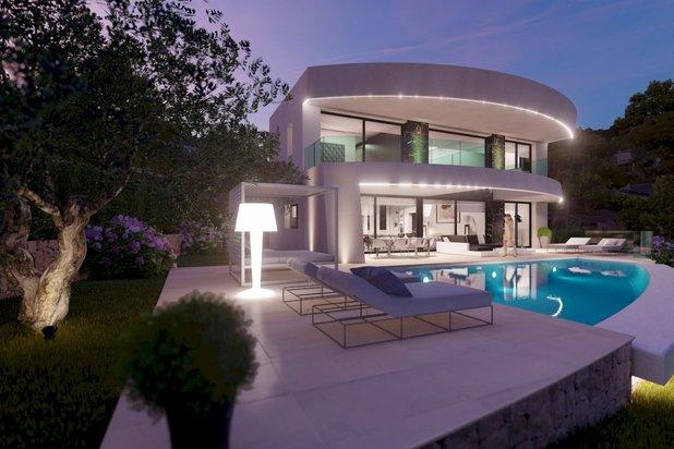 Villa met zeezicht in MORAIRA - NIEUW PROJECT