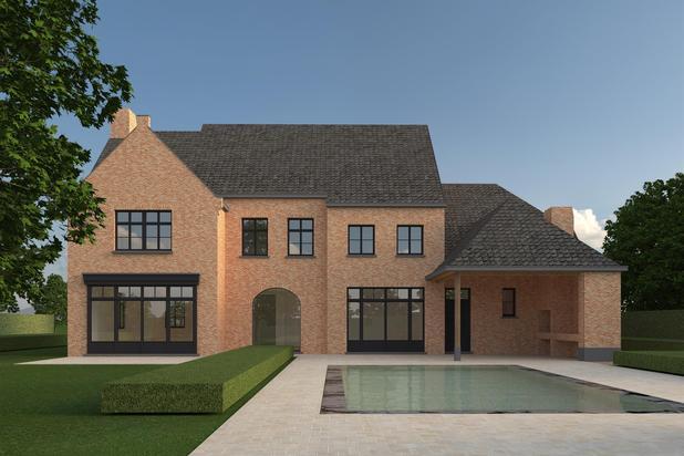 Nieuw te bouwen villa op prachtig perceel
