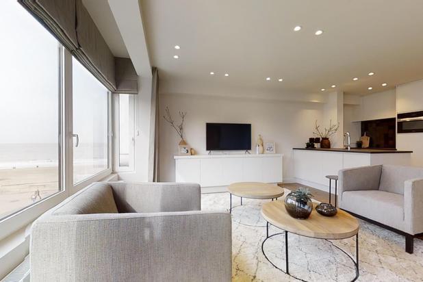 Zonovergoten, luxueus afgewerkt appartement met mooi zeezicht