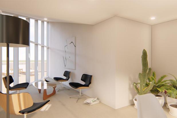 Prachtig nieuw penthouse met 3 slaapkamers en twee terrassen, in het centrum van Doornik!