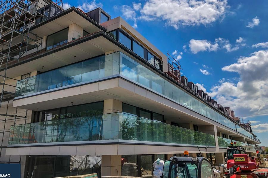 Nieuw, luxueus afgewerkt hoektuinapp. (153m²) met groen zicht - la Rive ( Réserve II)
