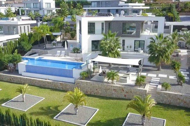 Droomvilla met uitzicht op zee in Javea
