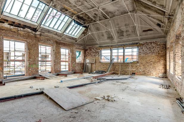 Magnifieke en unieke loft met terras te Gent, project Academie nabij centrum Gent.