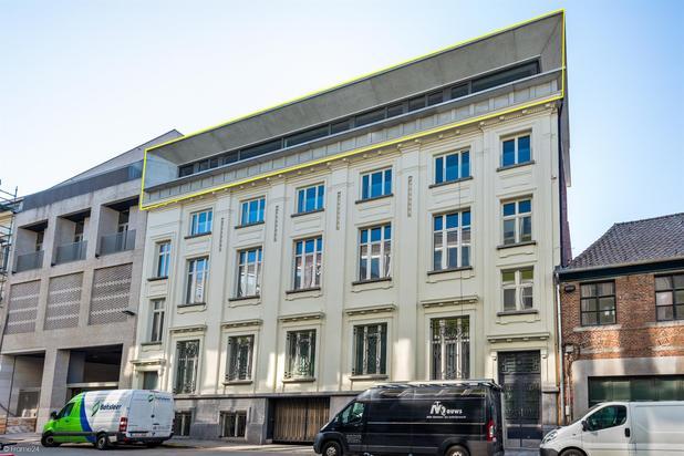 TE KOOP : Exclusieve penthouse te koop op toplocatie in hartje Gent.