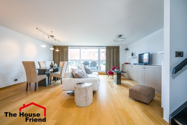 Duplex appartement op TOP locatie in KNOKKE