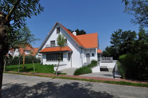 A louer : Nouvelle villa individuelle, sise dans une avenue paisible au Zoute.