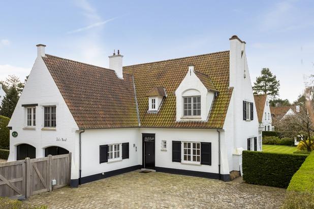 Charmante zonnige villa in 't Zoute in Knokke te koop