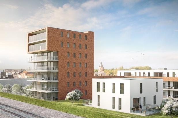 Penthouse met riant terras in Torck