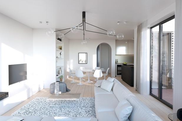 Penthouse met 3 slaapkamers, dressing en terrassen van 46 m²