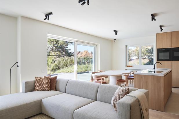 Luxueus tuinappartement met 4 slaapkamers in hartje Zoute...