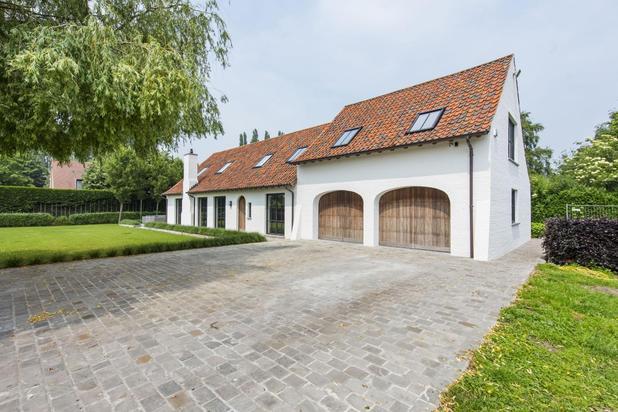 Recente luxueuze villa, uiterst rustig gelegen te Middelburg