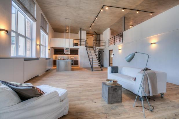 Nieuwbouwloft te residentie'Waterhof'