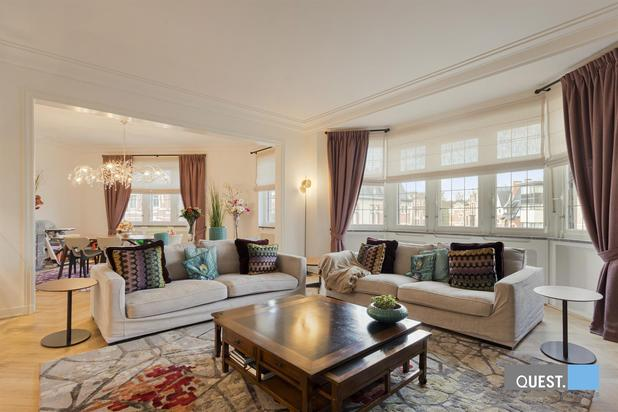 Prachtig appartement in fraai Beaux-Arts gebouw