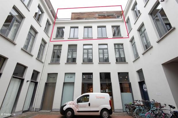 Riante penthouse op toplocatie te Antwerpen-Centrum