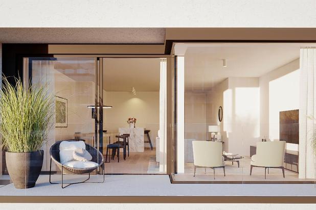 Nouvel appartement orienté plein sud situé à 50 mètres de la Place Rubens. Garages