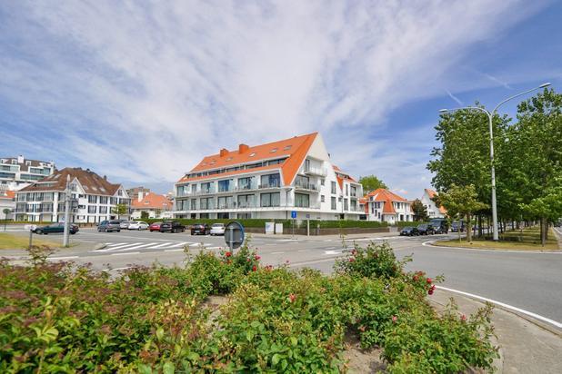 Duplex-hoekappartement met 3 slaapkamers, mooi open zicht en 2 zonneterrassen, gelegen op de Canadasquare...