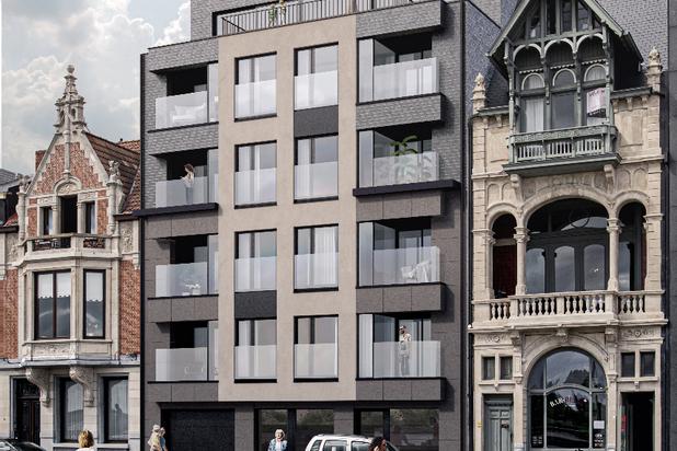 Penthouse met 2-3 slpk en 2 terrassen
