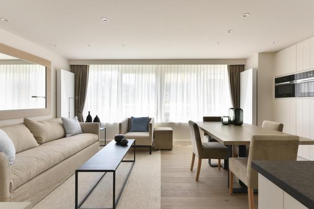 Appartement ensoleillé au Zoute, vue mer laterale