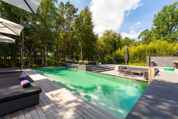 Imposante Eric Kuster villa in Poppels 'natuurgebied
