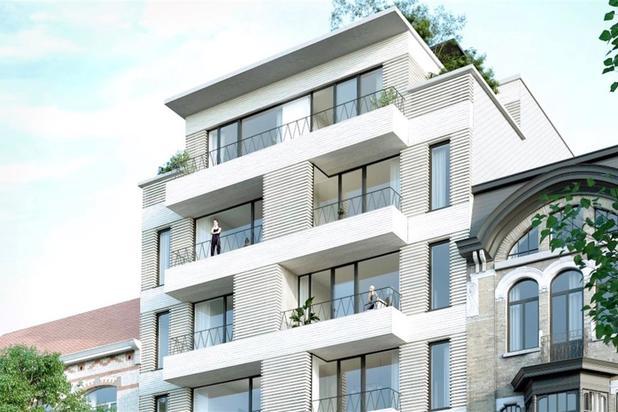Unieke Penthouse met 5 terrassen nabij Sint-Pieters-Station te Gent.