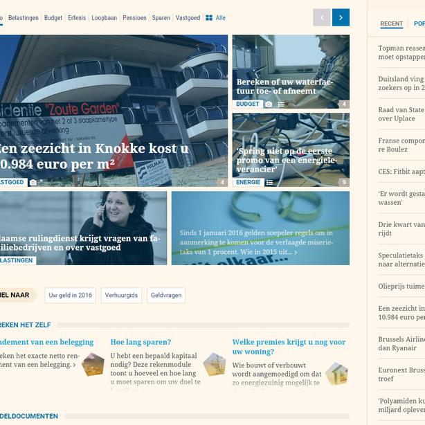 Een zeezicht in Knokke kost u 10.984 euro per m²