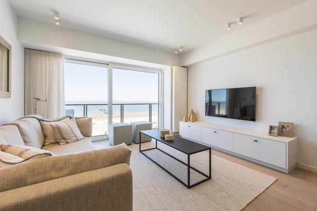 Digue de mer, appartement entièrement rénové à la Place Rubens