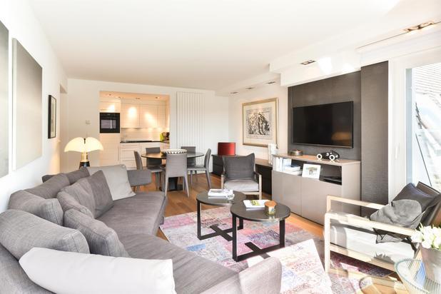 2 slpk appartement op topligging aan de wandeldijk in het Zoute.