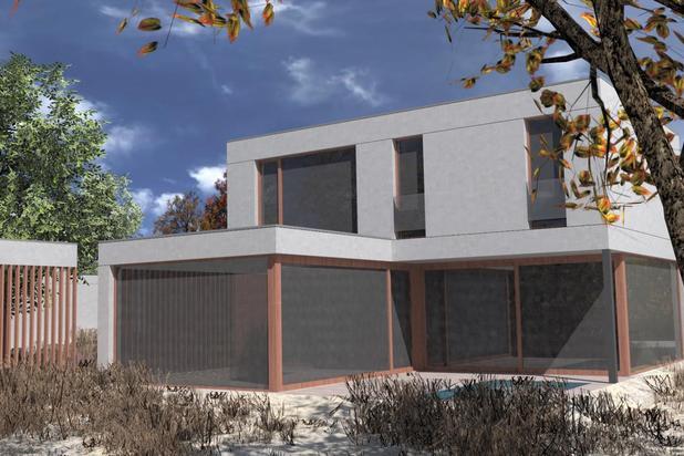 Une nouvelle maison économe en énergie dans la belle ville d'Oostduinkerke