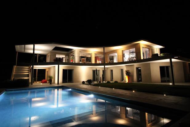 Superbe villa avec vue imprenable sur le village de Saint-Tropez