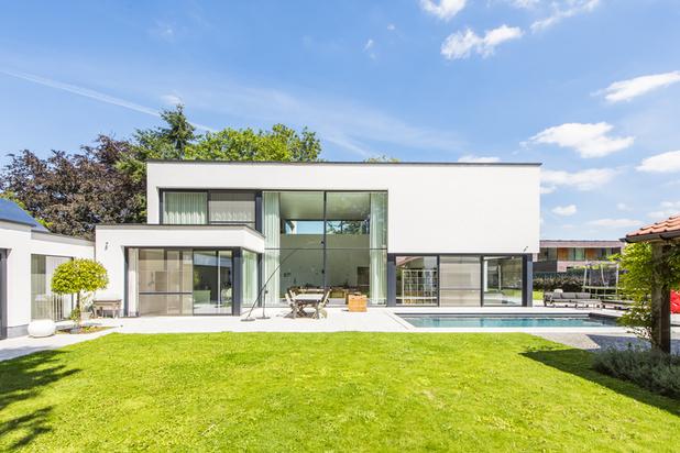 Moderne, energiezuinige villa in het groen