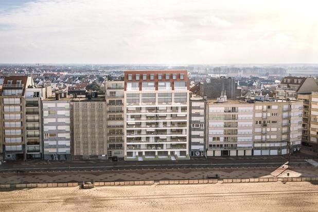 Nieuwbouw appartement met panoramisch zeezicht