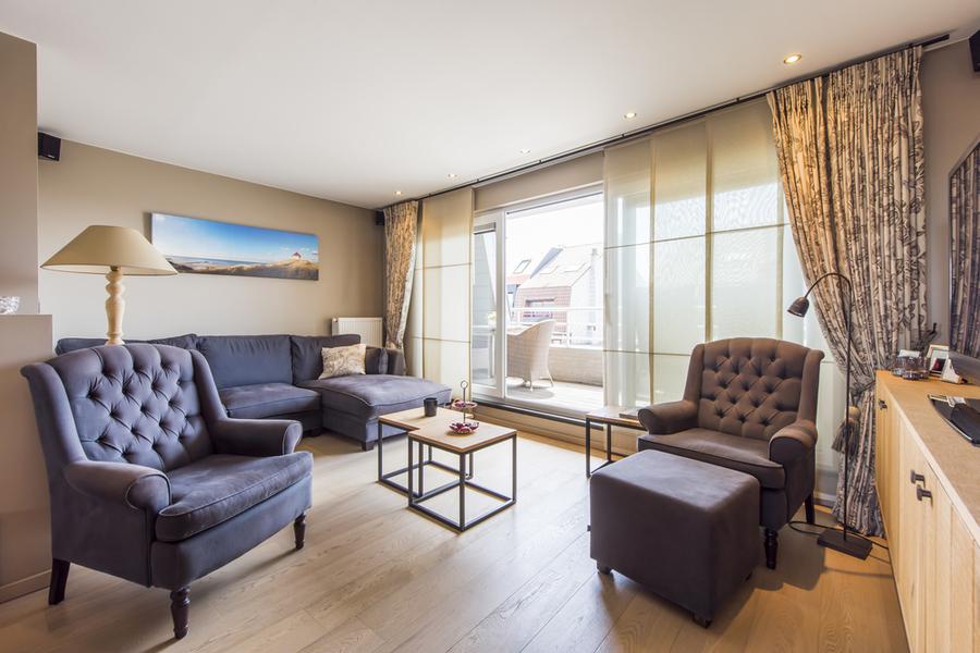 Luxueuze penthouse in hartje Wenduine
