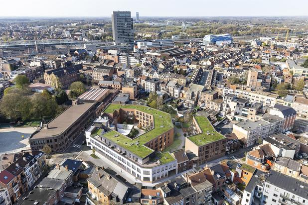 Gandhon: Nieuwbouwproject nabij Gent-Sint-Pieters