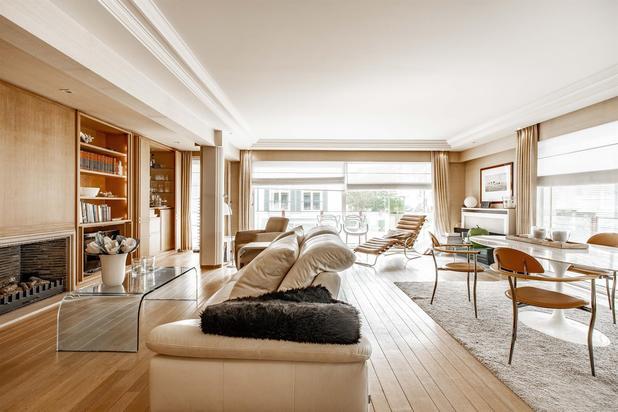 Appartement met terrassen, gelegen in hartje Zoute.