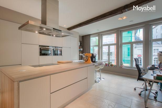 Exclusief penthouse op 100 meter van de Kouter, Gent.