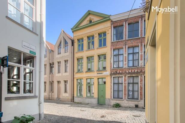 Historisch herenhuis in het historisch centrum van Gent