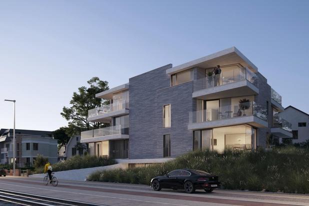 Penthouse met groot zuidgericht terras en twee slaapkamers