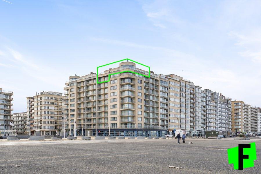 Uniek penthouse met zicht op zee en het toekomstig casino
