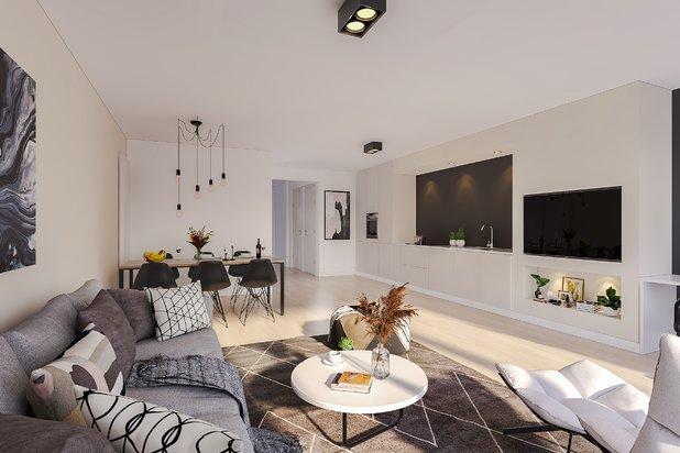 Luxueus appartement gelegen in een zijstraat van de Zeedijk op TOPLOCATIE te Knokke