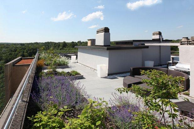 Splendide Penthouse de haut standing avec terrasse sur le toit