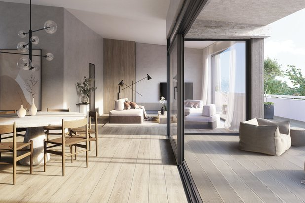 New construction project 'Abdijbeke' in Sint-Andries (Bruges)