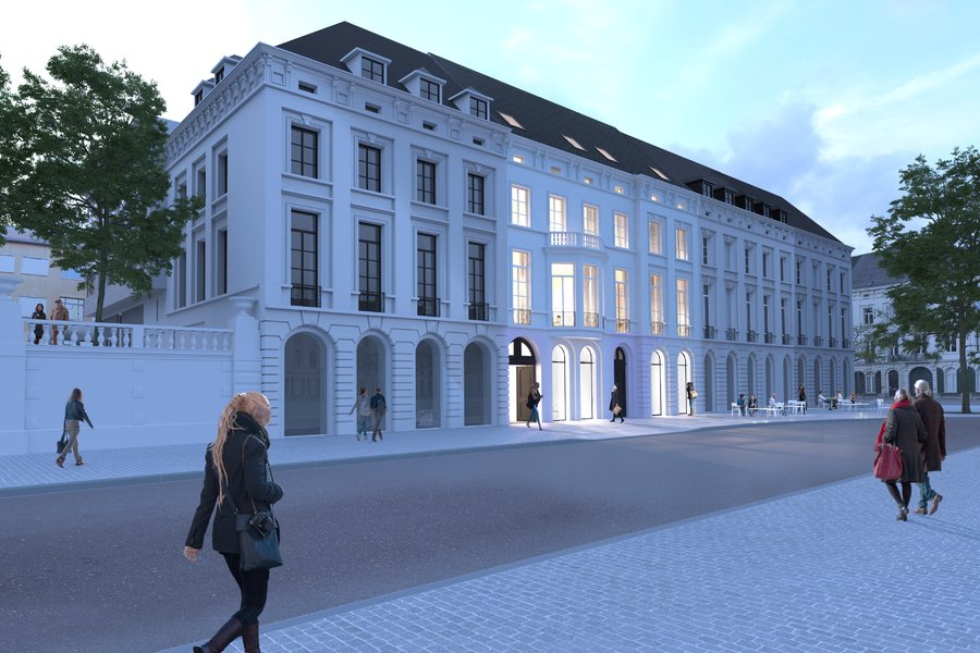 Penthouse op de 4de verdieping in centrum Gent