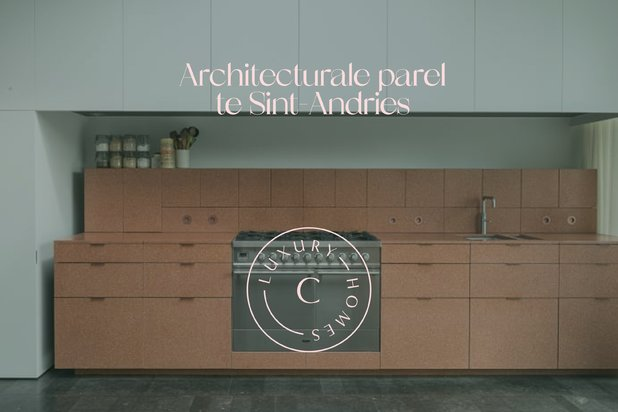 Architecturale parel te Sint-Andries