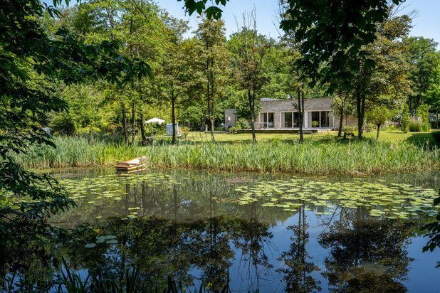 Exclusieve eigendom is gelegen in een domein van meer dan 4ha prachtige bossen
