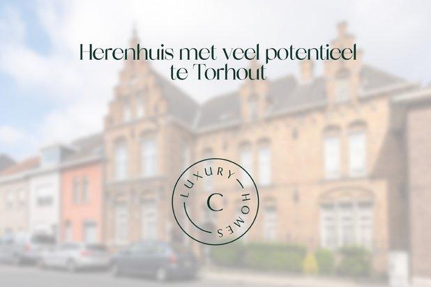 Herenhuis met veel potentieel te Torhout